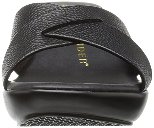 Women's Slide Black Sandal Athena Alexander Verna 8wtR5Z