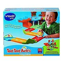 VTech Toet Toet Auto's 80-204623 Pista para vehículos de Juguete - Pistas para vehículos de Juguete,, plástico, Cualquier género, Dutch Language, CE