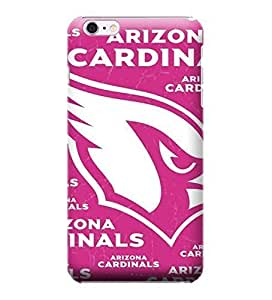 JIDANBING Phone Protective Covers,NFL-Arizona Cardinals Skin Slim Case Covers Compatible For iphone 6 plus(5.5)