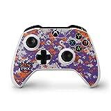NBA Phoenix Suns Xbox One S Controller Skin - Phoenix Suns Digi Camo Vinyl Decal Skin For Your Xbox One S Controller