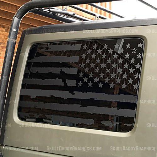 Levantando A Bandeira Iwo Jima Jeep Wrangler UnlimitedSaaraJkTjDecalque