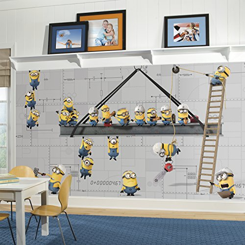 RoomMates JL1329M Minions Prepasted Strippable