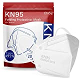 ChiSip KN95 Face Mask, 5 Layer Cup Dust Safety