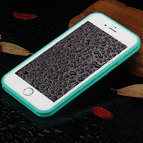 iPhone 6S Case,AutumnFall® Waterproof Shockproof DustProof Case Cover For iPhone 6s 4.7Inch (Green)