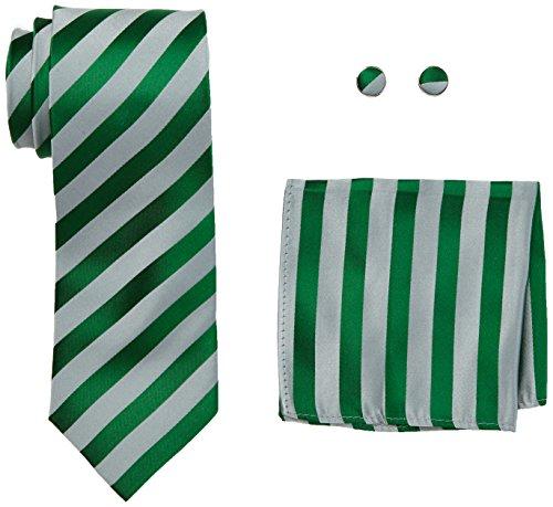 Landisun Mens Silk Stripe Pattern product image