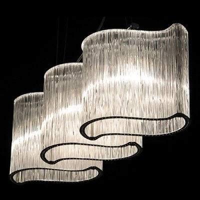 mei-elegant-crystal-island-lighting-fixture-install-over-kitchen-or-dining-table