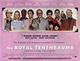 The Royal Tenenbaums 2001 British Quad Poster