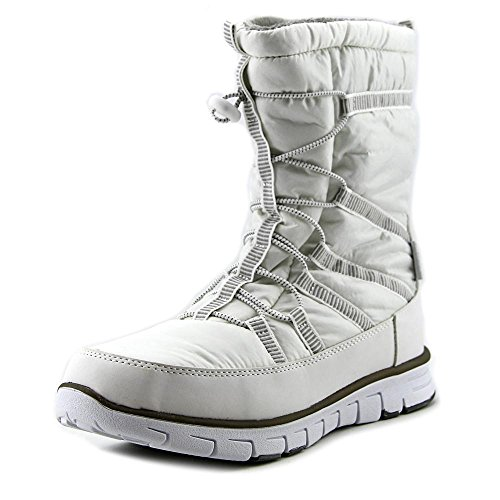 Khombu Womens Altam-WP Cold Weather Boot White W36fJ7e