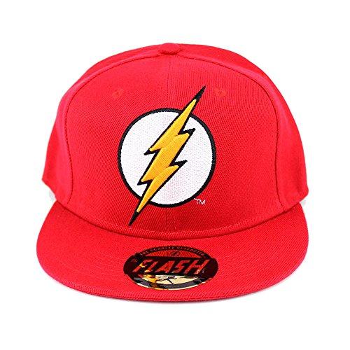 Codi The Flash Cappello Visiera Regolabile Logo red Berretti Cappelli