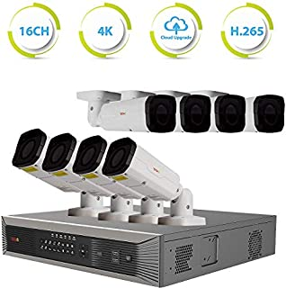 Revo America Ultra Plus 16 Ch. 4TB HDD 4K IP NVR Video Security System - Vandal Resistant Motorized Lens 8 x 4MP Bullet Security Cameras - Remote Access via Smart Phone, Tablet, PC & MAC (B00294Y4BG) | Amazon price tracker / tracking, Amazon price history charts, Amazon price watches, Amazon price drop alerts