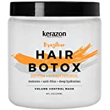Kerazon Hair Botox Treatment provides smoothing, deep hydration, nutrition, shine, softness, volume control and hair…