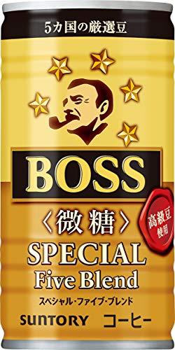 일본 산토리 보스 캔커피 산토리 커피 보스 스페셜 파이브 블렌드 미당 185g×30개