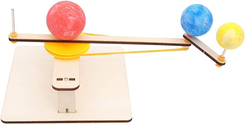 CHoppyWAVE DIY Earth Moon Sun Planetario Orbital Geografía Juguete de Aprendizaje físico experimentos de Ciencia, Stem Juegos de Aprendizaje para niños Mayores de 8 años: Amazon.es: Hogar
