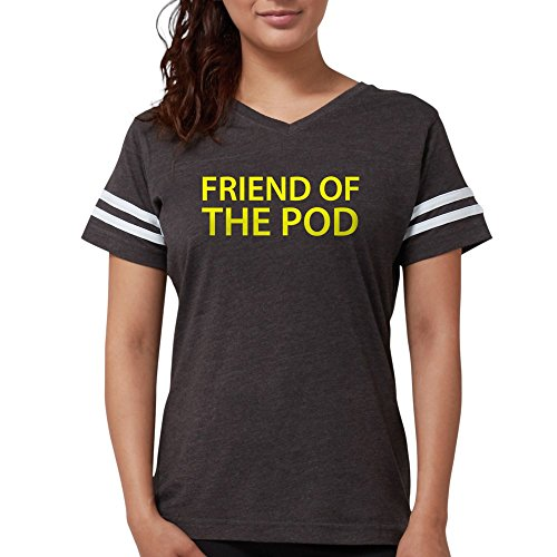 CafePress - Friend of The Pod Save Ameri - Womens Football Shirt Smoke Grey