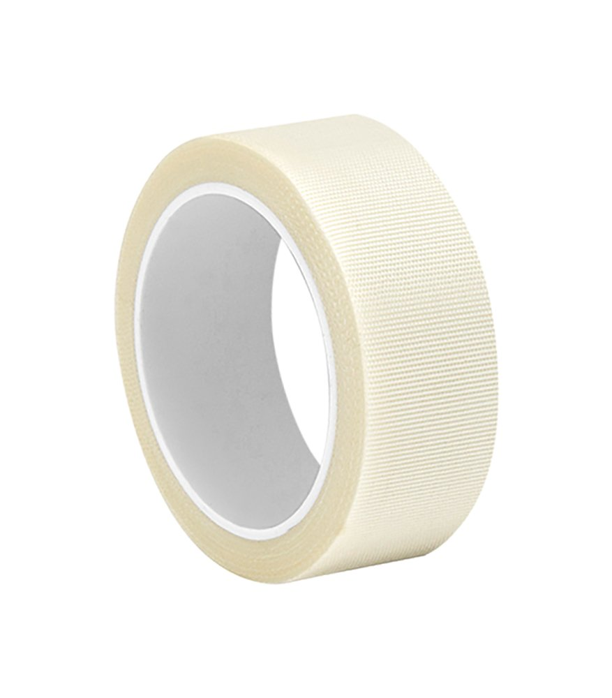 """3M 0.625-5-361 White Glass Cloth/Silicone Adhesive Electrical Tape, -65 Degrees F to 450 Degrees F, 5 yd Length, 0.625"""" Width"""
