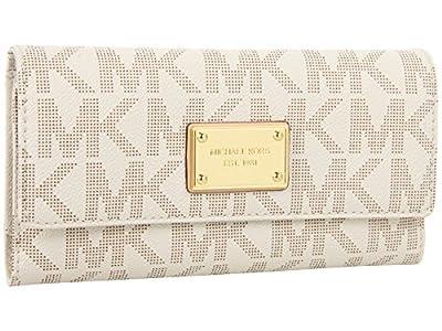 Michael Kors Jet Set Item PVC Checkbook Wallet