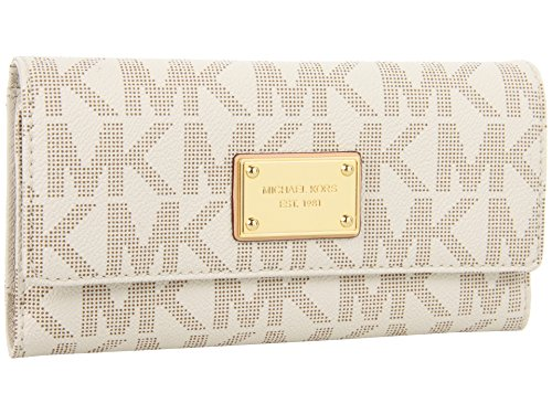 253eb19ea305 Michael Kors Jet Set Item PVC Checkbook Wallet – Anna's Collection