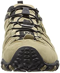 Merrell Men\'s Chameleon Prime Stretch Waterproof Hiking Shoe,Canteen/Brown,10.5 M US