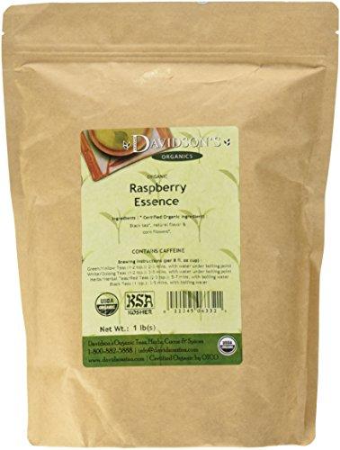(Davidson's Tea Bulk, Raspberry Essence, 16-Ounce Bag)