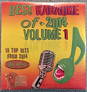 Best Of Karaoke - Best Of Karaoke 2014 Volume 1 CD+Graphics CDG 18