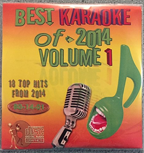 Best Of Karaoke 2014 Volume 1 CD+Graphics CDG 18 Pop & Country Tracks Katy Perry Calvin Harris Jason Derulo Snoop Dogg Rixton Dan & Shay Jennifer Nettles Coldplay Kongos Ingrid Michaelson Luke Bryan