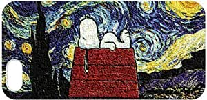 iPhone 5/5s Case - Peanuts Snoopy Hard Protective iPhone 5/5s Case - Vincent Van Gogh The Starry Night