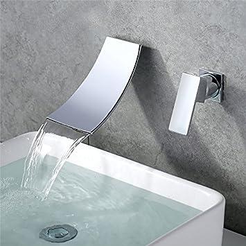 Robinet de baignoire mural mitigeur salle de bains douche: Amazon.fr ...