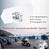 Adjustable Motorcycle Extension Windshield