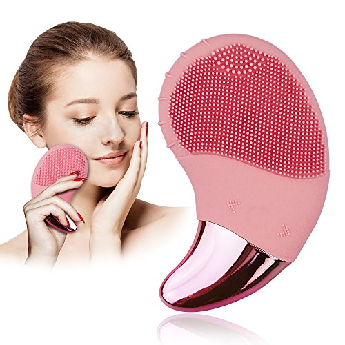 Benss Silicone Face Cleanser Brush Gentle Exfoliation and Eye Massager for All Skin Types