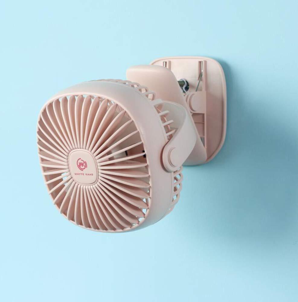 XFS Creative Fashion Summer Fan,USB Small Fan,Mini Rechargeable Office Desktop Desk Fan,Fan,Dormitory Bed Mute by XFS