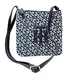 Tommy Hilfiger Womens' Crossbody Bag Small Shoulder Bag (Navy Blue)