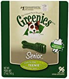 Greenies Senior Tub-Pak Treat for Dogs, 27-Ounce, Teenie