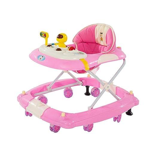Andador Bebe HUYP Baby Walker Plástico Plegable Baby Walker Altura ...