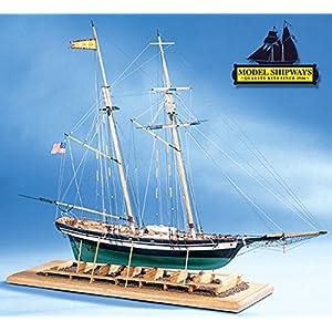 Model Shipways Pride Of Baltimore 2 1:64 Ship Plank-on-Bulkhead Kit SALE- Model Expo