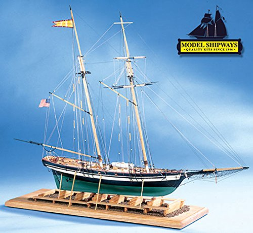 Model Expo Model Shipways Pride of Baltimore 2 1:64 Ship Plank-on-Bulkhead Kit Sale