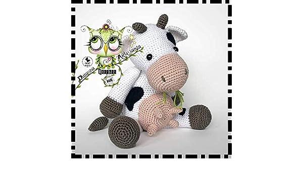 Galamigurumis Soy una Vaca: Patrón revisado - Galamigurumis | 350x600