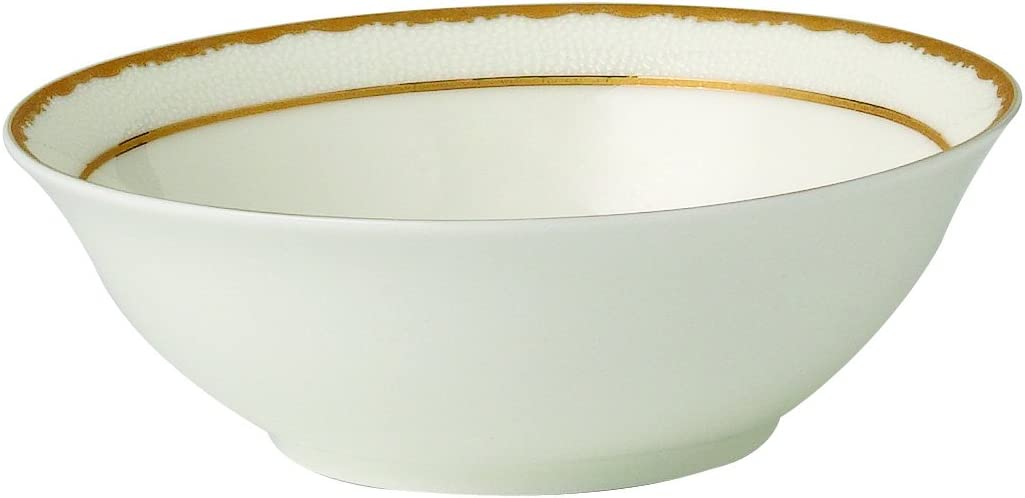 Lorren Home Trends Sonia Collection Bone China Serving Bowl, 9