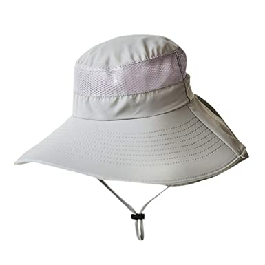 Gorra de Pesca Hombre Moda Verano Al Aire Libre Cangilón Malla ...