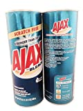 Ajax Powder Cleanser with Bleach, 21oz (595g) Pack of 2