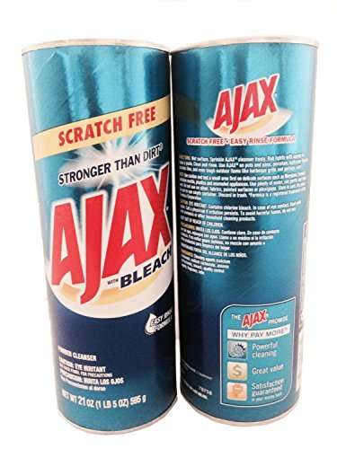 Ajax Powder Cleanser with Bleach, 21oz (595g) Pack of (Ajax All Purpose Cleaner)