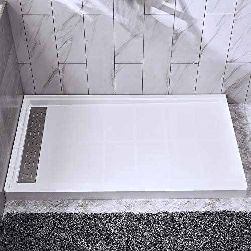 (WOODBRIDGE Solid Surface Shower Base 60