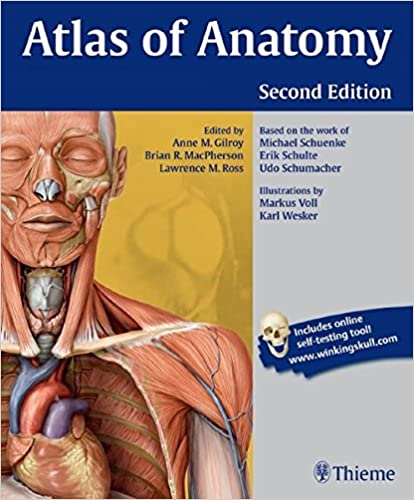 Atlas Of Anatomy 9781604067453 Medicine Health Science Books