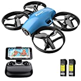 Drone with Camera for Kids, Potensic A30W RC Mini Quadcopter with 720P HD Camera, One...