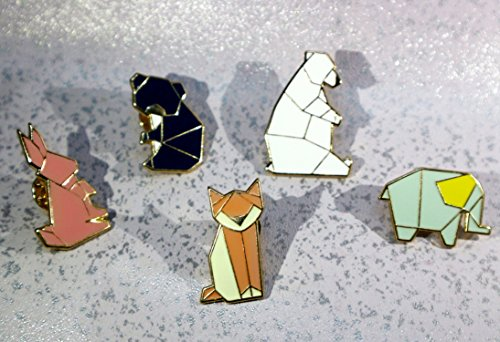 Liveinu Fashion Geometric Cartoon Animals Enamel Brooches Pins Set Cute Brooches  Pins For Clothes Bags Brooches ...