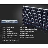 LexonElec Wired Gaming Keyboard Ajazz AK33 Blue LED