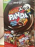 2 ofMeiji Hello Panda Chocolate Creme Filled Cookie 32-0.75oz(21g)bags