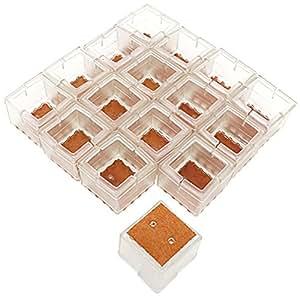 Esfun caps protectores de para suelos de madera silicona - Protector de suelo para sillas ...