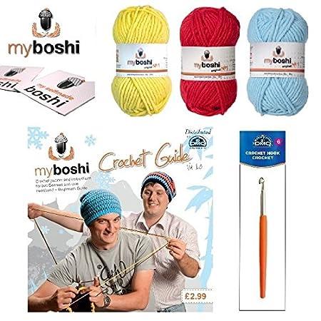 myboshi Make Your Own Starter Kit de para gorras de ganchillo ...