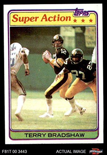 7dd618865 1981 Topps   88 Terry Bradshaw Pittsburgh Steelers (Football Card) Dean s  Cards 7 - NM Steelers