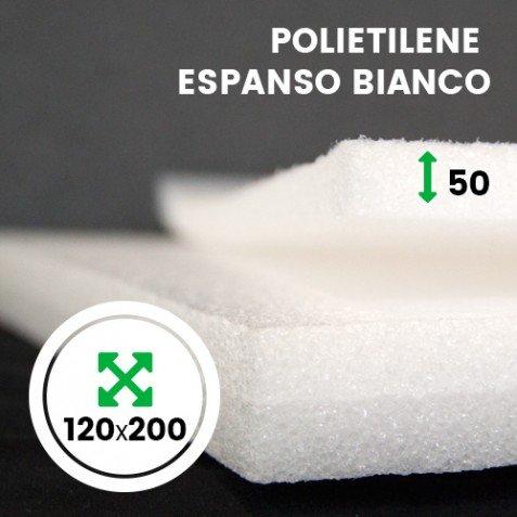 LASTRA ESPANSO LAS021D IMBALLAGGIPER COLORE BIANCO 120 X 200 CM SPESSORE 50 MM MATERIALE IMBALLAGGIO